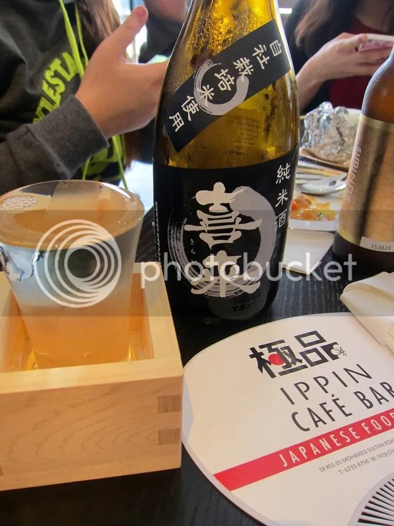 IPPIN Cafe Bar Kirai Junmai Sake