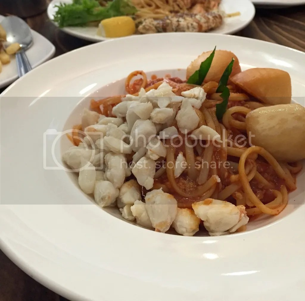 Habitat Coffee Chilli Crab Linguine
