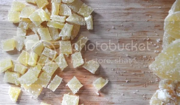 lemon ginger pound cake