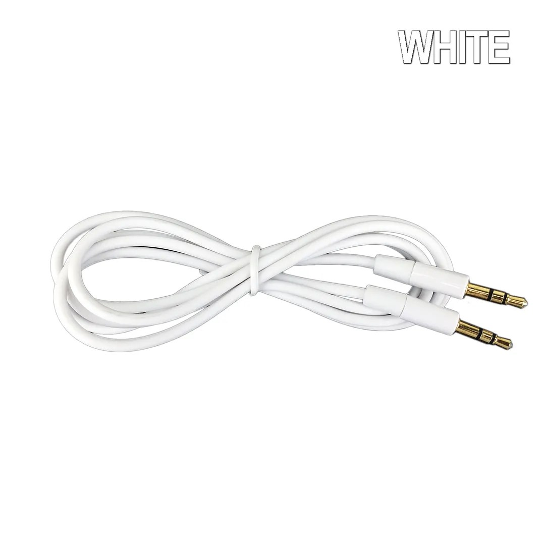Aux Cable 3 5mm Stereo Audio Input Extension Male To Male Auxiliary Car Cord New