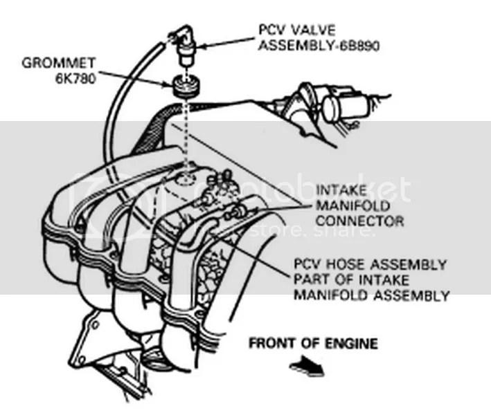Ford Alternator Wiring Diagram Ford Bronco Vacuum Line