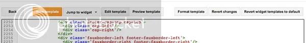 new edit html blogger