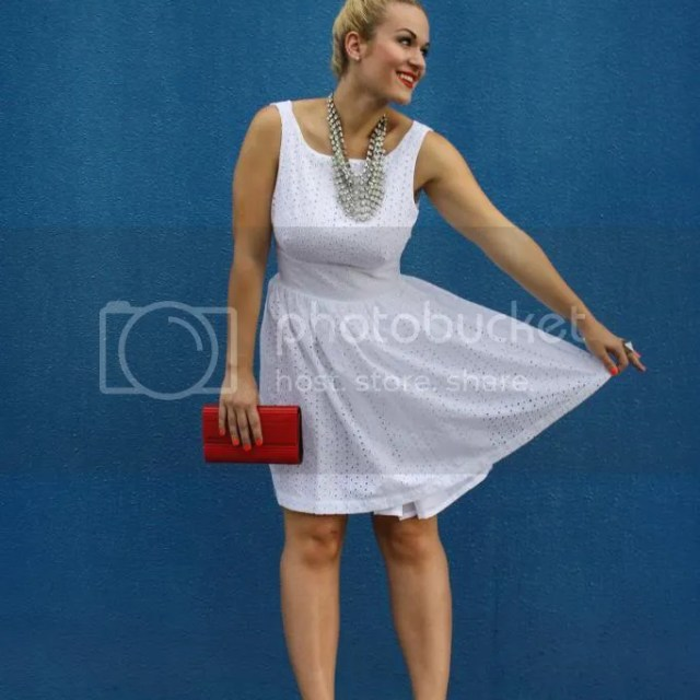 Sara Berman Seersucker dress