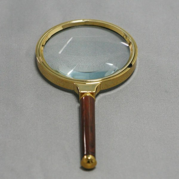 90mm Handheld 10x Magnifier Magnifying Glass Loupe Reading Jewelry