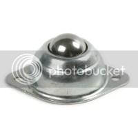 """8pcs stainless steel 5/8"""" Roller Ball Transfer Bearings ..."""