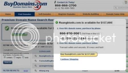 pengalaman domain bekas dijual orang