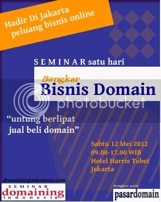 Seminar Domaining Indonesia