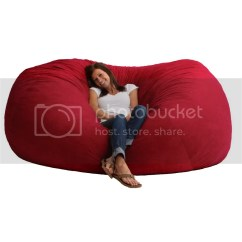 Xl Bean Bag Chair Cheap Xxl Sofa Loveseat Red Sack Fuf Oversized Bedroom Dorm Tv Xbox Fun