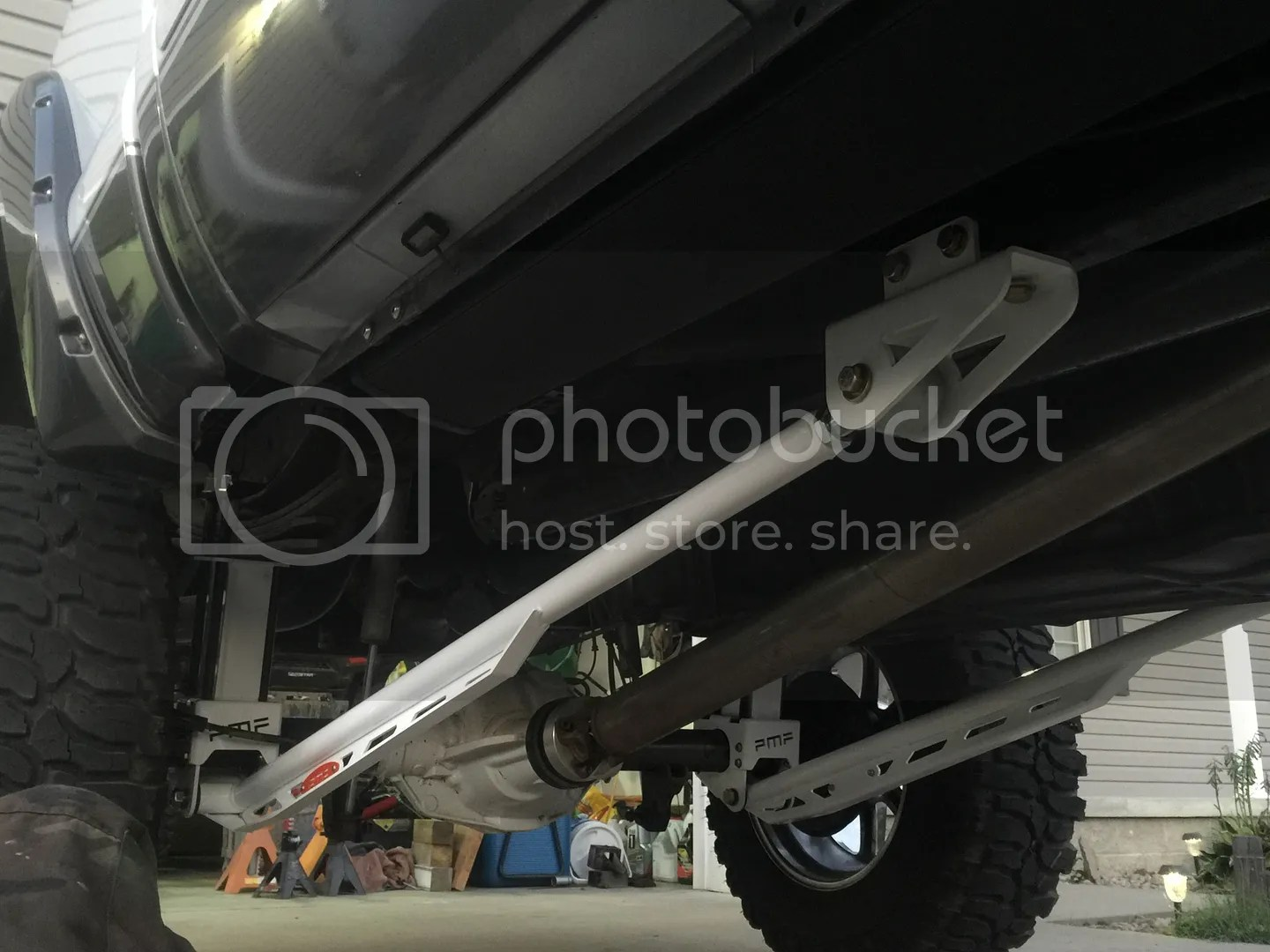 2012 Ford F250 Traction Bars F 250
