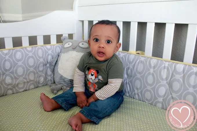 Love Letters to My Son, 7 Months old, de su mama, biracial baby, multiracial family