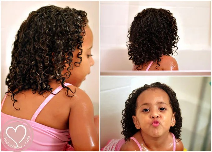 Wondrous Mixed Hair Care Tips For Toddler39S Ringlet Curls De Su Mama Short Hairstyles Gunalazisus