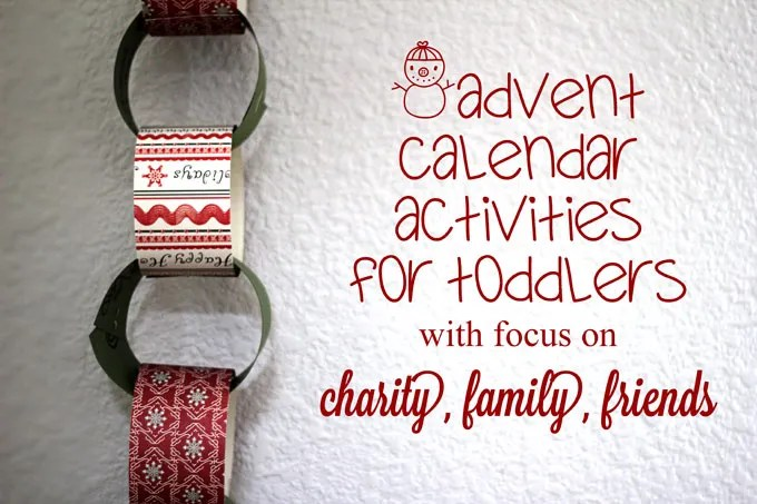 holiday traditions, paper chain advent calendar, advent calendar, family heritage, family traditions, latino family, positive parenting