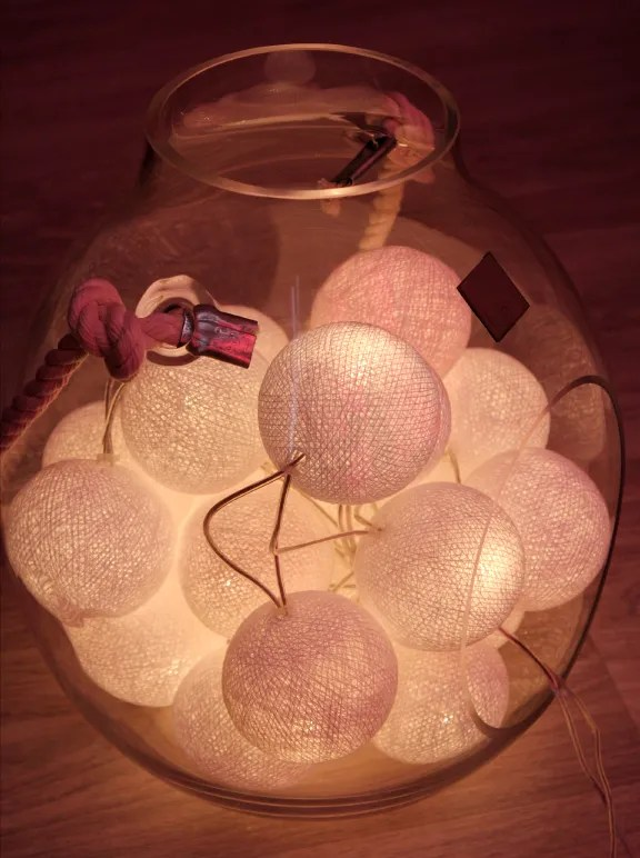 Cotton Ball Lights  sfeervolle lichtslingers  Womanistical
