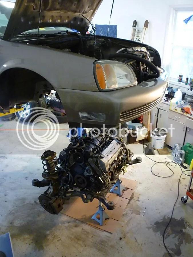 2000 Cadillac Eldorado Engine Removal