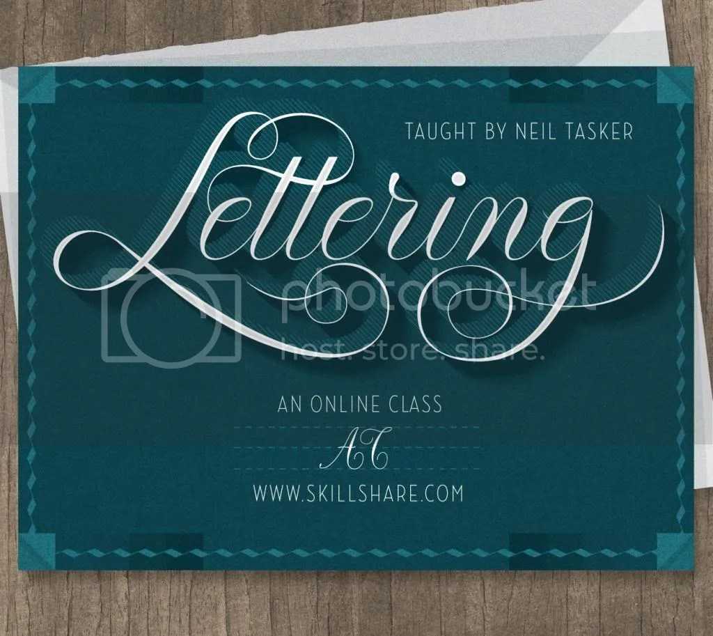Let's learn some lettering on Skillshare  | Aaron learns