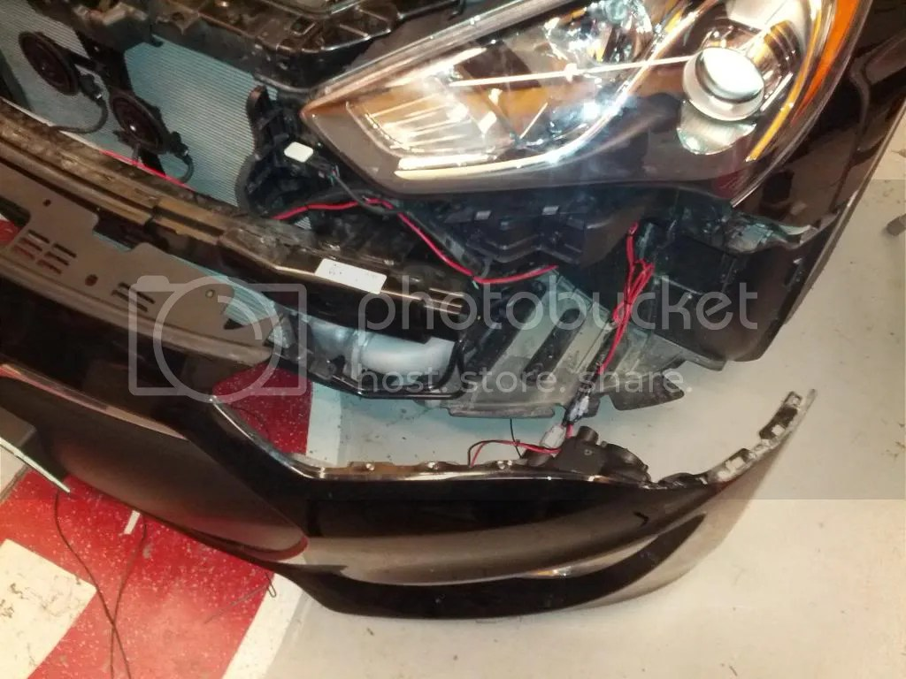 hight resolution of connect your red wires from your led s to the red wires we ran and left at the fog light location
