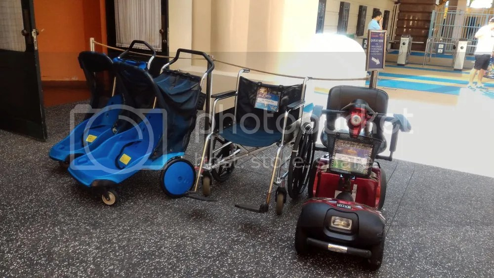 single stroller $15, double stroller $20, wheelchair $15, electric vehicle $50