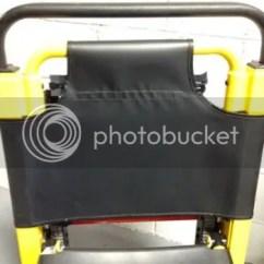 Ems Stair Chair Wedding Covers In Bulk Stryker 6251 Replacement Soft Vinyl Backrest Emt Ferno