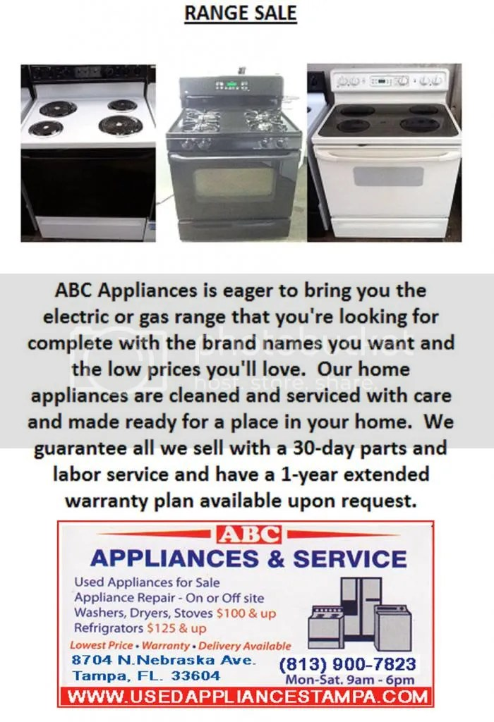 tappan ovens appliances ranges