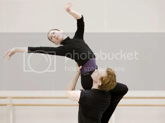 Leanne Benjamin and Edward Watson in rehearsal. Photo: Johan Persson / ROH © Source: Balletanddance