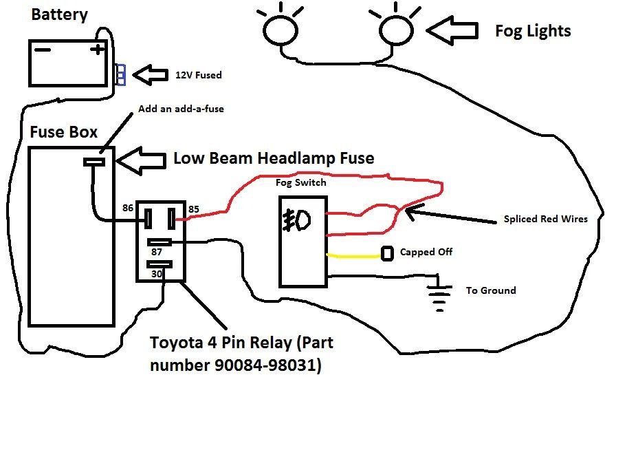 2005 toyota corolla fog light wiring diagram
