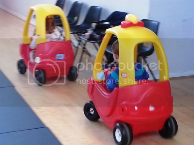 Cosy Coupe car chase