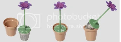 Flower Pot shaped Tea Infuser | 10 SPRING-ish Gadgets by Bloggeretterized
