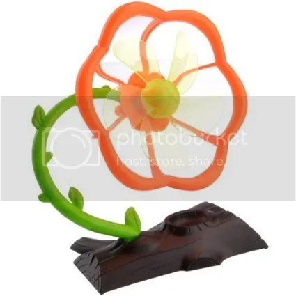 Flower Shaped USB Fan | 10 SPRING-ish Gadgets by Bloggeretterized