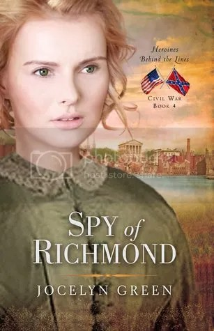 Spy of Richmond by Jocelyn Green book cover