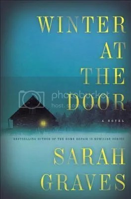 Winter at the Door by Sarah Graves book cover