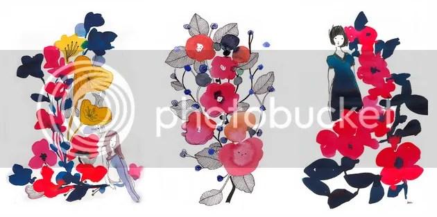 Miss Capricho Water Colors Garden Delights Series