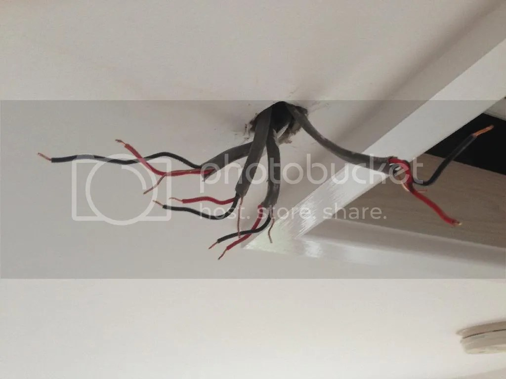 Wire That Is In The Ceiling From The Switch Is Now To The Ceiling Rose