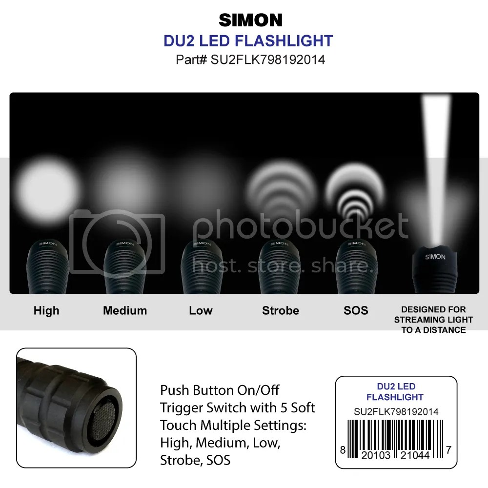 Simon Cree DU2 Light Modes