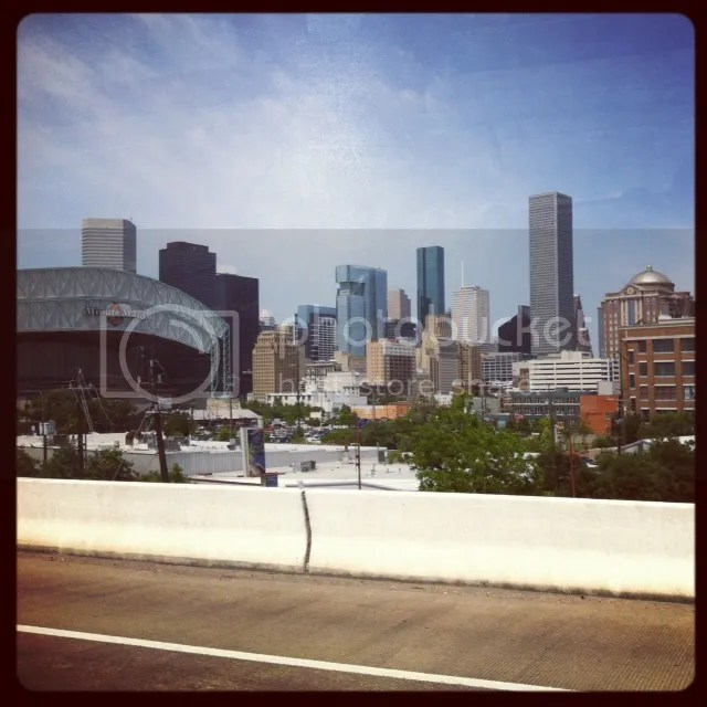 Houston, Houston skyline, minute maid park, houston ballpark, houston buildings