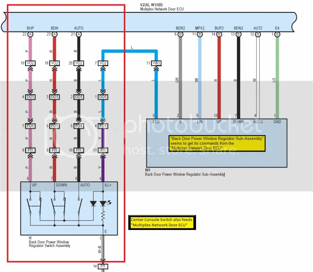 hight resolution of tailgate window console switch not working rear key works fine diagram moreover toyota 4runner rear window parts on 97 4runner tail