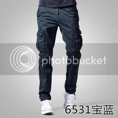 mens outdoor slim multi pockets