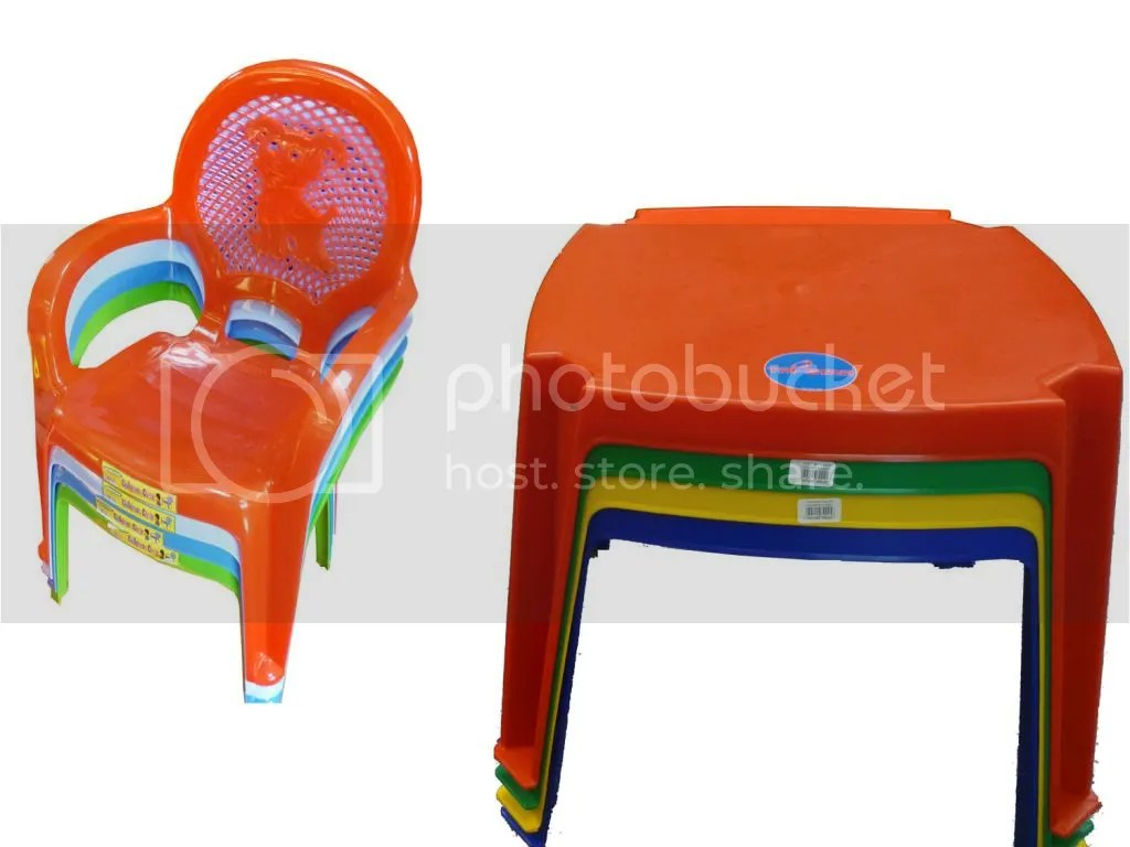 Childrens Plastic Chairs Kids Childrens Plastic Table And Chairs Set Choose Colour