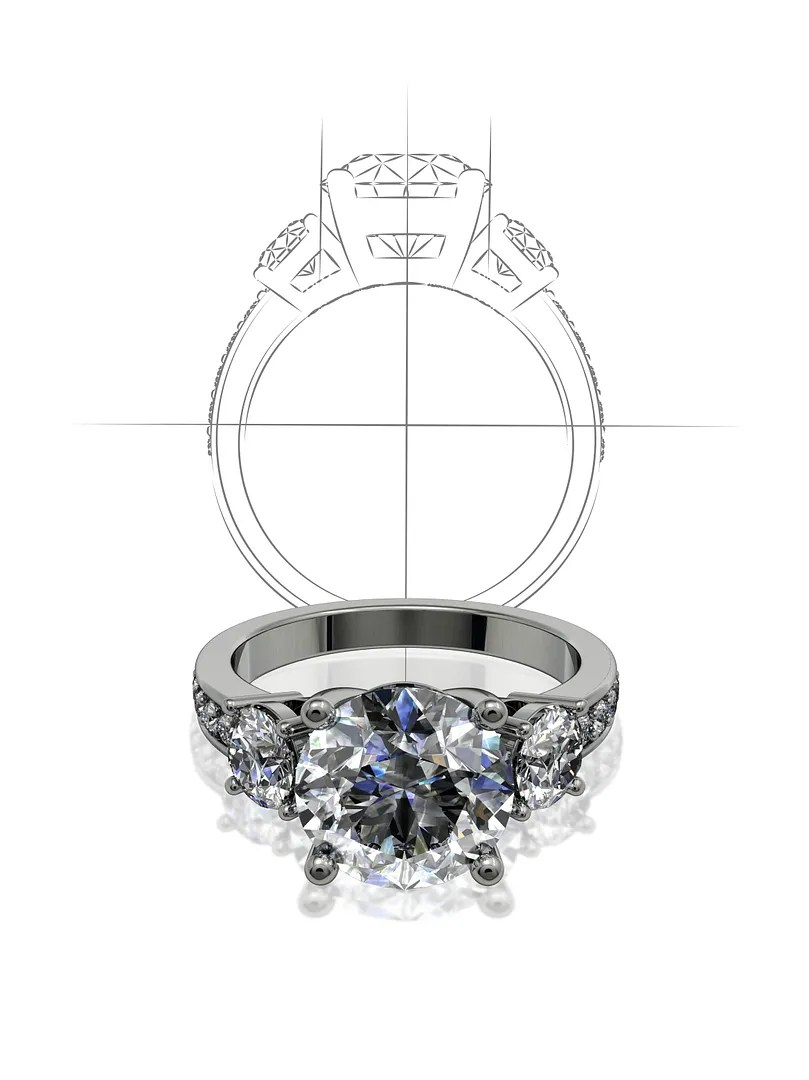 Custom Design Engagement Rings and Bands. Designer