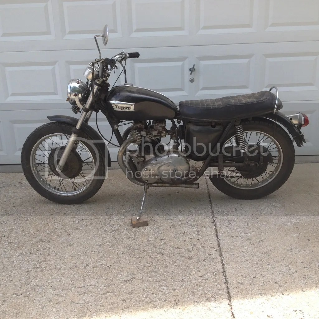 1970 mobile home wiring diagram hydraulic pump motor just drug a 70 tr6? need - page 3 triumph forum: rat motorcycle ...