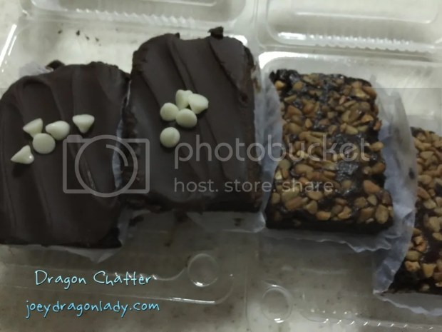 Double Chocolate Squares and Cashew Brownies Price: 40php per piece