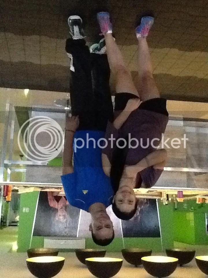 Eclipse gym bacolod Lara Novales with Buddy Cadelina