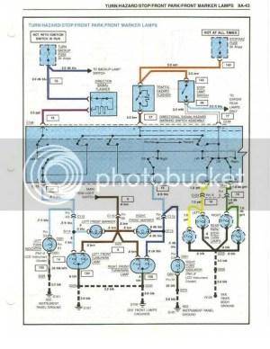 1984 Tail Light Wiring Diagram  CorvetteForum  Chevrolet