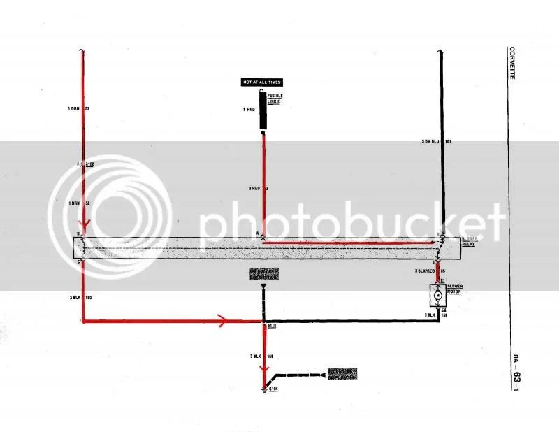 problem with heater blower fan - c4 corvette heater fan wiring diagram