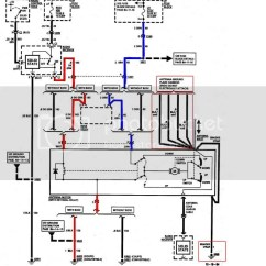 Electric Antenna Wiring Diagram Telecom Network Microsoft 1995 C4 Power Help Corvetteforum Chevrolet Corvette Notice In The Schematic It Shows Some Black White Wires And Ends Of Don T Connect To Anything They Are Used For Ground Plane