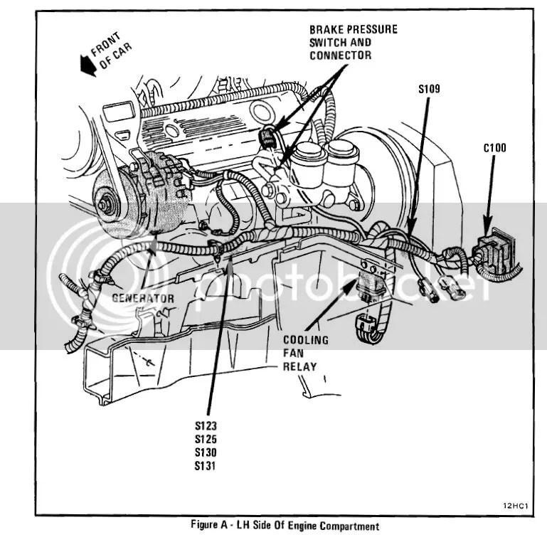 Automotive 1984 Corvette Cooling Fan Wiring Diagram