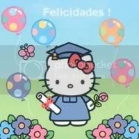 hello kitty graduation Pictures, Images and Photos