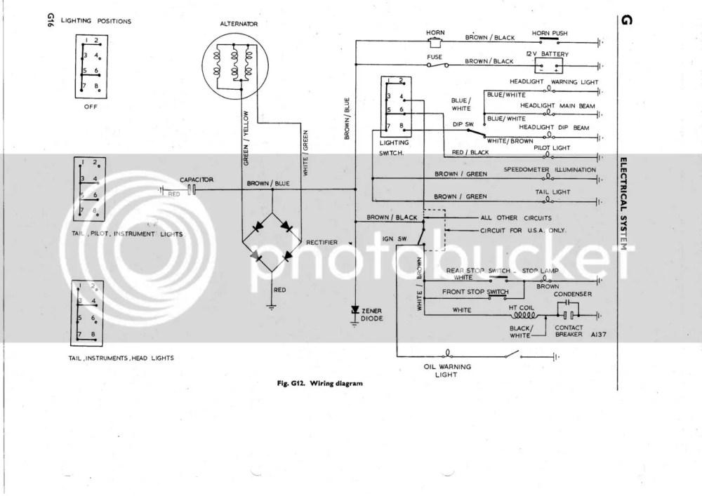 medium resolution of 1969 triumph motorcycle wiring diagram