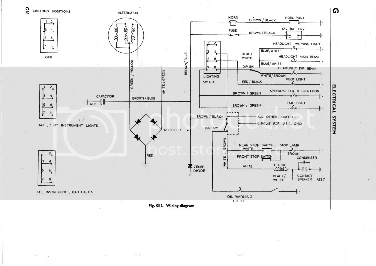hight resolution of 1969 triumph motorcycle wiring diagram