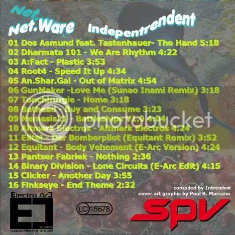 Net.Ware Indepentrendent Tracklist