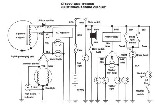small resolution of yamaha tt500 wiring diagram wiring diagramyamaha tt500 wiring diagram schematic diagramxt 500 wiring diagram 19 sg